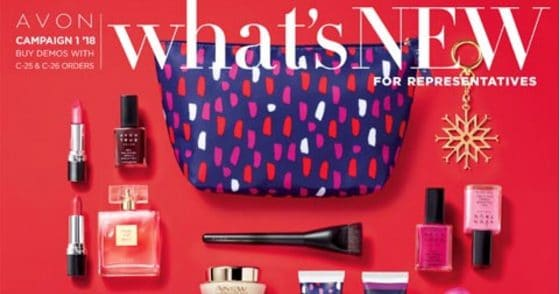 Avon What's New Campaign 01, 2018