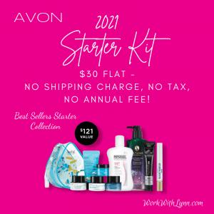 2021 Avon All The Best Sellers Starter Kit