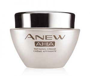 One of today's top skin care staples, alpha hydroxy acids (AHAs) are potent acids that can help skin look smoother and years younger. Our new AHA cream is formulated with an exclusive blend of antioxidants and soothing agents, so you can use it every day! 1.7 oz. net wt.