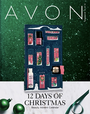 Avon Campaign 26, 2018 12 Days of Christmas Brochure