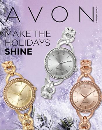 Avon Campaign 26, 2018 Make the Holidays Shine Brochure