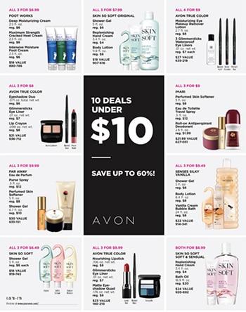 Avon Campaign 26 2019 10 Deals Under $10 Brochure