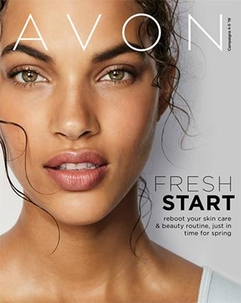 Avon Campaign 04, 2019 Fresh Start Brochure