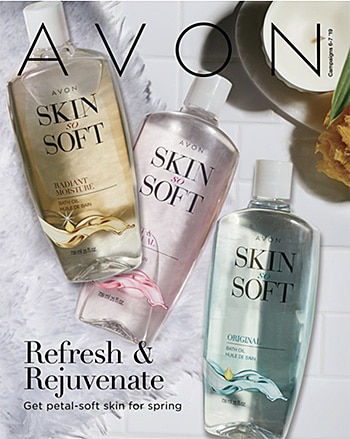 Avon Campaign 06, 2019 Refresh & Rejuvenate Brochure
