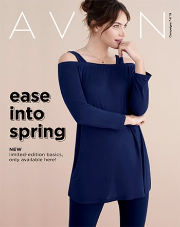 Avon Campaign 07, 2019 Ease Into Spring Brochure