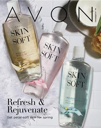 Avon Campaign 07, 2019 Refresh & Rejuvenate Brochure