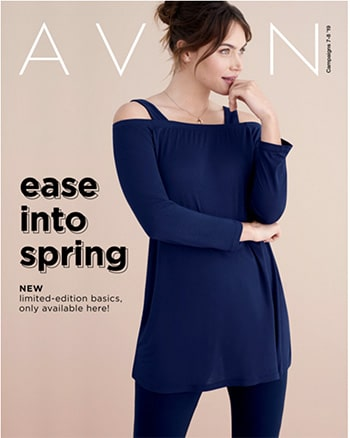 Avon Campaign 08, 2019 Ease Into Spring Brochure
