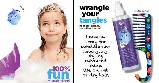 Avon Kids Tangle Wrangle Leave-in Conditioner & Detangler Spray