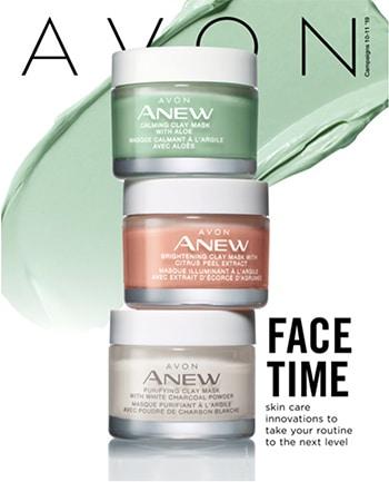 Avon Campaign 10, 2019 Face Time Brochure