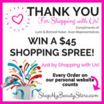 Win A $40 Avon Shopping Spree!