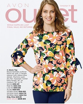 Avon Campaign 13, 2019 Outlet Brochure