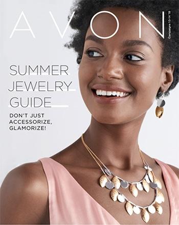 Avon Campaign 14, 2019 Summer Jewelry Guide