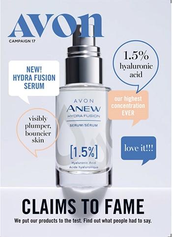 Avon Campaign 17, 2019 Brochure