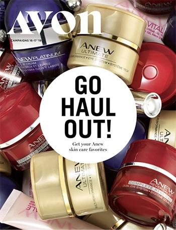 Avon Campaign 17, 2019 Go Haul Out Brochure