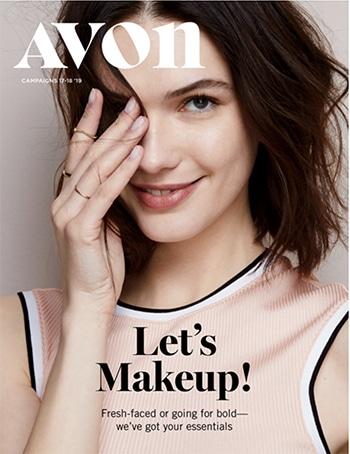 Avon Campaign 17, 2019 Let's Makeup Brochure