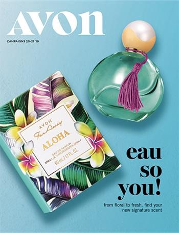 Avon Campaign 20, 2019 Eau So You Brochure