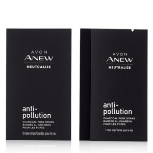 Anew Neutralize Anti-Pollution Charcoal Pore Strips