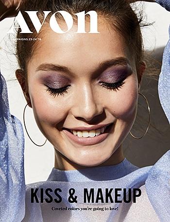 Avon Campaign 23, 2019 Kiss & Makeup Brochure