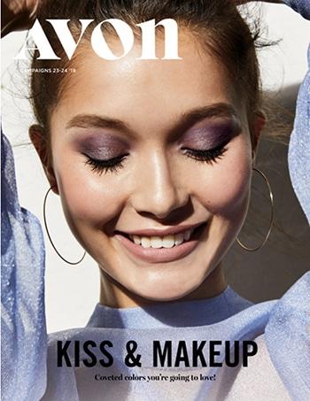 Avon Campaign 24, 2019 Kiss & Makeup Brochure