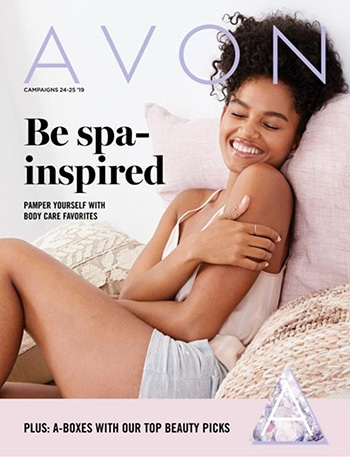Avon Campaign 25, 2019 Be Spa-Inspired Brochure