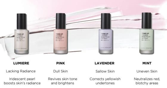 Consider these your makeup pre-game. They turn your skin into a silky-smooth canvas, keeping makeup in place all day. They brighten, mattify, color correct, hydrate and make your pores virtually disappear.
