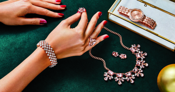 Avon Blushing Collection Holiday Jewelry