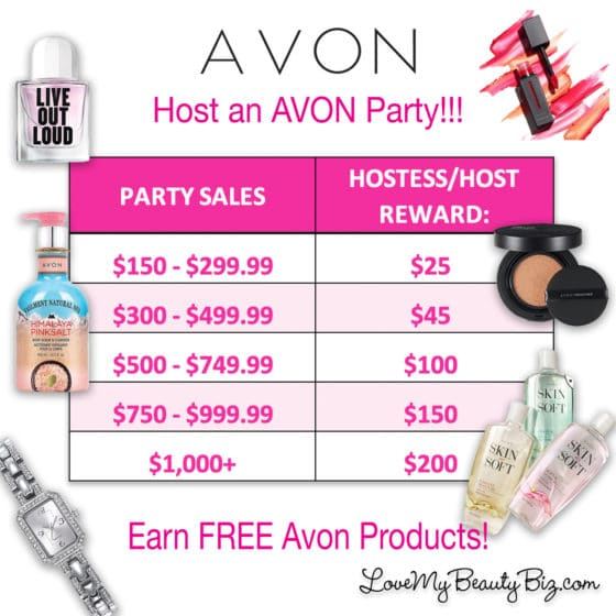 Host an Avon Party with Lynn Huber