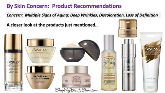 Skin Care Concern: Multiple Signs of Aging