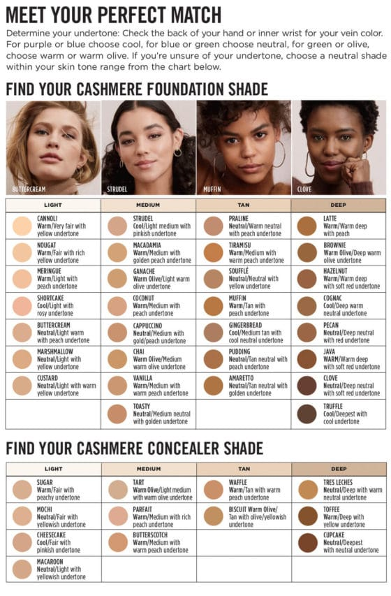 Avon Cashmere Foundation - Find Your Perfect Match