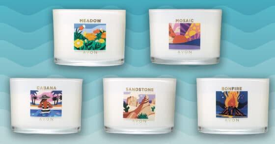 Aromatic Luxury – Avon Summer Candles