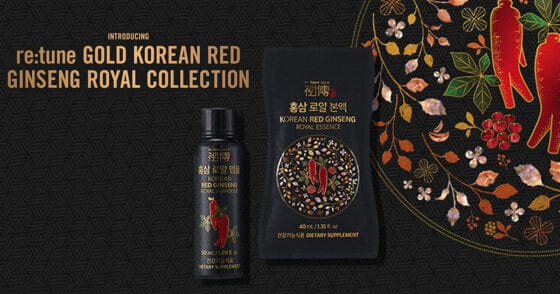 Re:Tune Korean Red Ginseng Royal Collection At Avon