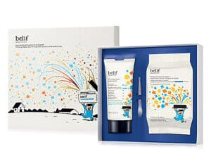 Limited Edition belif Aqua Bomb with Hyaluronic Acid Powder Set