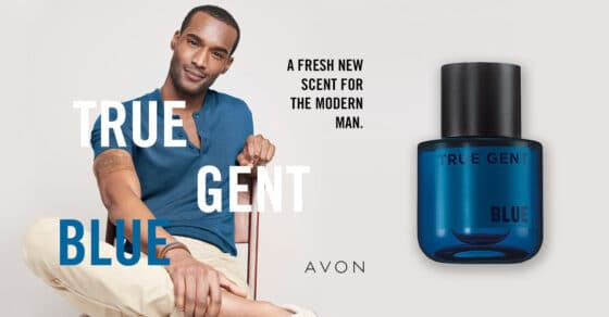 Avon True Gent Blue – A Fresh New Scent For The Modern Man!