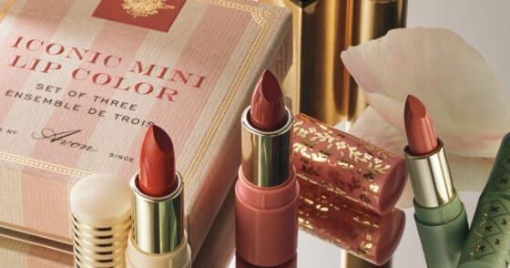 Avon Iconic Mini Lip Color Set