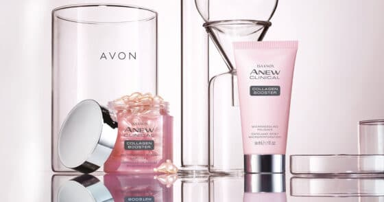 Isa Knox Anew Clinical Collagen Booster Collection At Avon