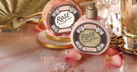 Passion & Beyond Rose Silk Bouquet Shower Gel & Body Emulsion