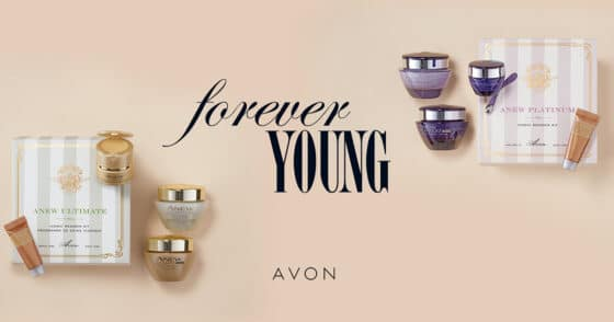 Avon Forever Young Iconic Anew Regimen Sets