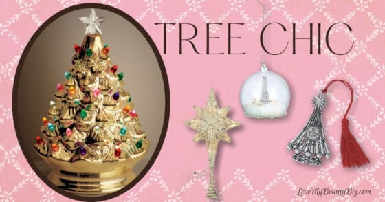 Tree Chic Avon Iconic Holiday Tree And Ornaments