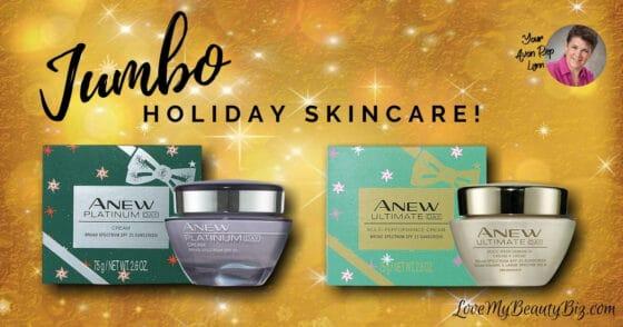 Avon Limited Edition Jumbo Size Skincare!