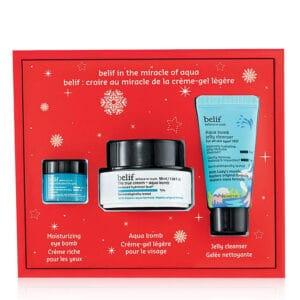 belif Holiday Aqua Miracle Bomb Set