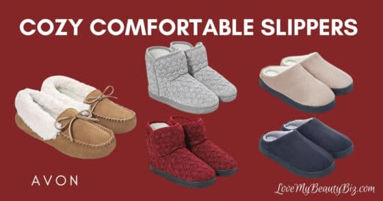 Cozy Comfortable Slippers At Avon