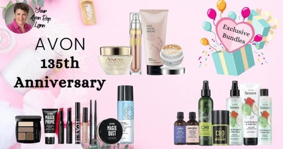 Avon 135th Anniversary Beauty Bargains Special Bundles
