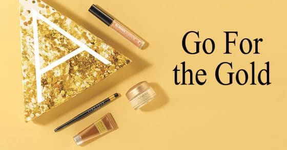 Avon Go For The Gold A Box