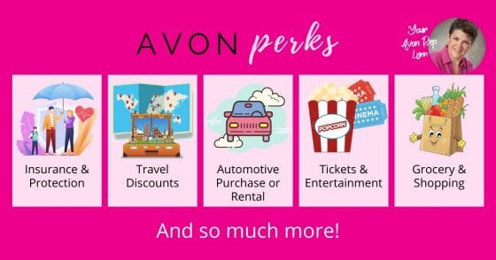 Avon Perks – Another Great Reason to Sell Avon!
