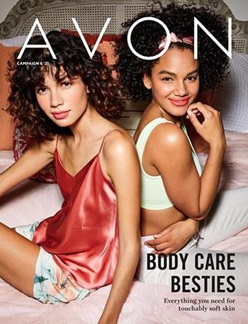 Avon Campaign 06, 2021 Body Care Besties Brochure