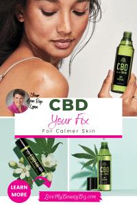 CBD – Your Fix For Calmer Skin!