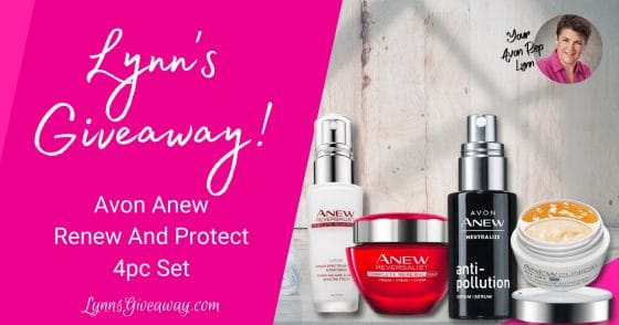 Lynn's Avon Renew And Protect Giveaway