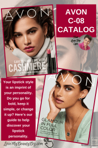 Avon Campaign 08, 2021 Brochures