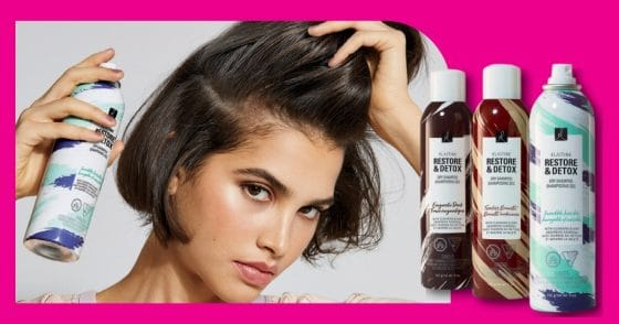 Elastine Restore And Detox Dry Shampoo