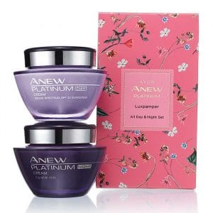 Anew Platinum Luxpamper All Day & Night Set